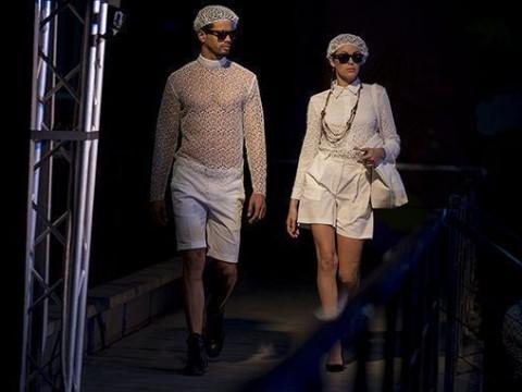 Semana de la Moda en la Habana, colección del diseñador Mario Freixas.